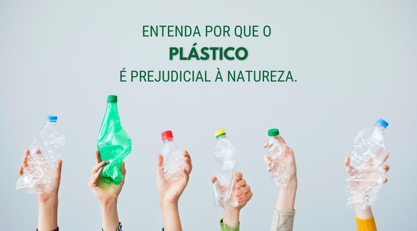 Plástico é prejudicial